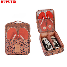 RUPUTIN Travel Shoe Bag Large-capacity Organizer Bags Shoe Sorting Pouch Waterproof Double-layer Shoes Bag Travel Accessories