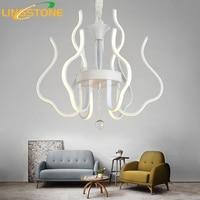 Modern Lustre Led Crystal Chandelier Lighting Ceiling Chandeliers Light Lamparas De Techo Hanglamp Luminaire Living Room