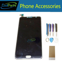 1 Pc/lote Para Alcatel One Touch Pop 4S 5095 OT5095 5095B 5095L 5095 K Display LCD e Tela de Toque Digitalizar + ferramentas/Fita Cor Preta
