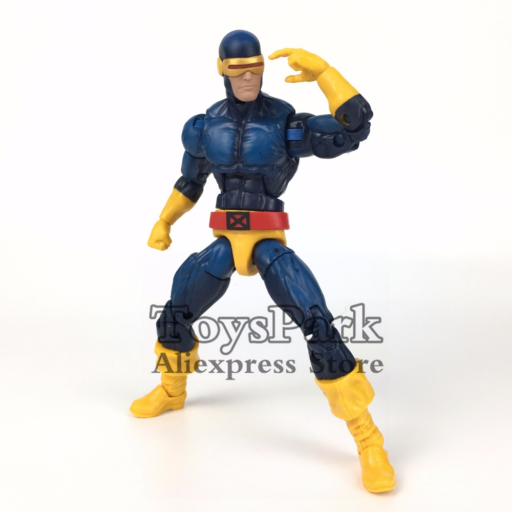 ToysPark Marvel Legends Series 6 CYCLOPS Action Figure From 2017 Toys R US TRU Exclusive X MEN Dark Phoenix Collectible Loose