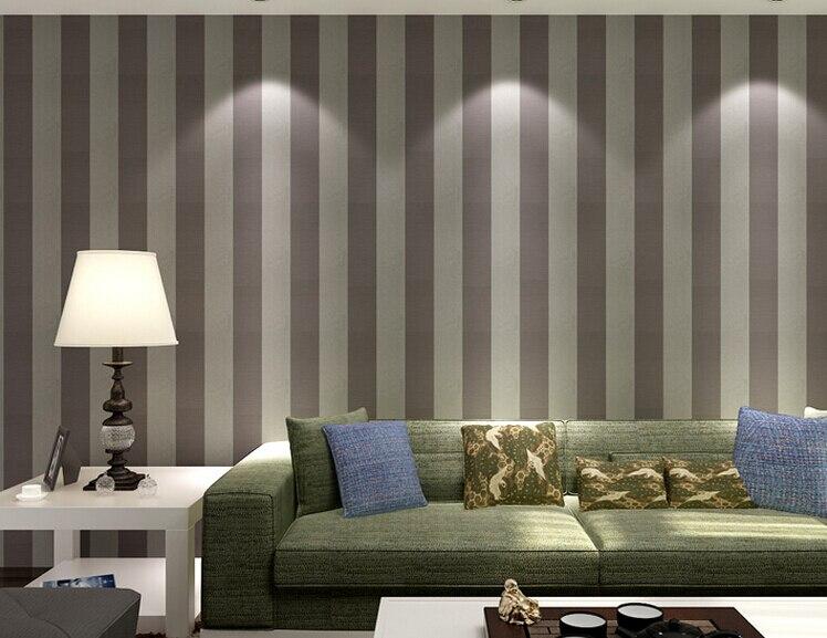 comprar lujo moderno de paredes papel pintado a rayas rollo negro blanco plata oro del brillo para el dormitorio sala de estar
