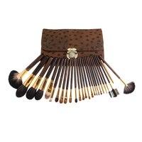 26 stücke Leoparden-print Professionelle Make-Up Pinsel Set Gesicht Schönheit Kosmetik Make-up Pinsel Set Professionelle