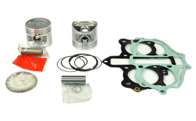Motorcycle GASKET AND PISTON STD KITS SET engine gaskets include cylinder paper kit set FIT For HONDA CA250 CA 250