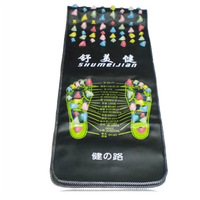 Acupuncture Massage Pad Walk Stone Foot Massager Cushion Shakti Mat Foot Massage Reflexology Relax Body Pain Health Care Square