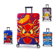 Mytrip Cartoon Elastic Luggage Protective Covers Cover For 18-30 Inch Suitcase Elastic Luggage Cover, Travel Accessories