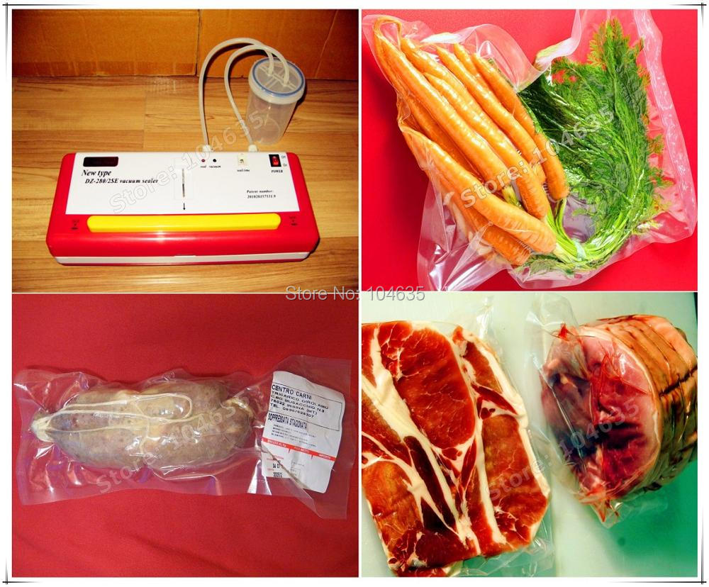 110V or 220V SINBO DZ-280/2SE Household Dry Wet Dual-use Multifunction Vacuum Sealing Machine Food Vacuum Packer sealer machine