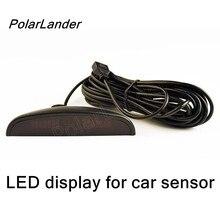 PolarLander Car Auto LED Backlight Display Parking Sensor Sensors for Reverse Backup Parking Radar Monitor Detector System