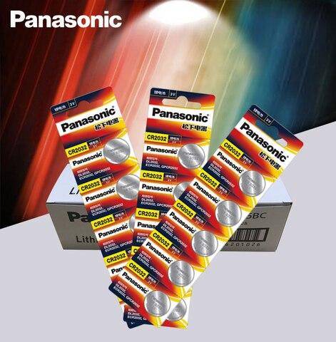 Bateria de Lítio para Assista Panasonic Baterias Botão Célula Original 200 Pçs – Lote 3v Cr2032 Coin Calculadora Controle Remoto cr 2032