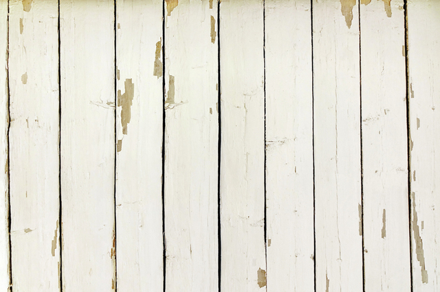 Huayi Distressed Cream Wood Backdrop For Photography Rustic Wood