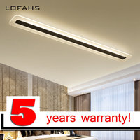 LOFAHS Modern LED Chandelier for Corridor Aisle Entrance Dining Room Living Room Strip Lamp Home Lighting Fixtures