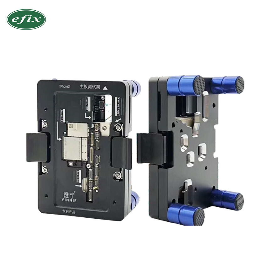 efix iPhone X Main Board Testing Fixture iSocket Jig Logic Board Fast Test Fixture Holder For iPhone X Repair