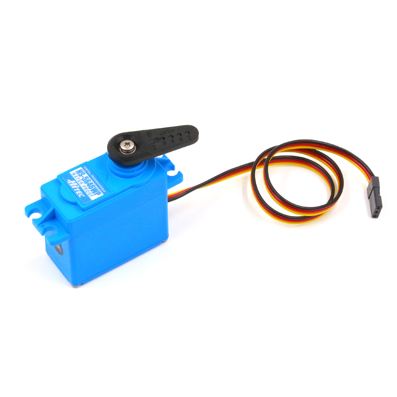 IP67 Wasserdicht Servo 13kg Hochdruck Hitec HS 5646WP 6 V 7,4 V Doppel Kugellager Digitale Lenkgetriebe fr RC Autos/Boot - 3