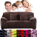 Case on the sofa Polyester elastic Spandex Stretch Pastoral soft fabric Slipcover Printed 1/2/3/4 Seats furniture sofa cover