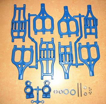 MadMax OP Suspension Arm Set 8 pcs For TRAXXAS T-MAXX E-MAXX 1/10 Rc Car PART area rc alloy suspension arm for traxxas x maxx 1 5