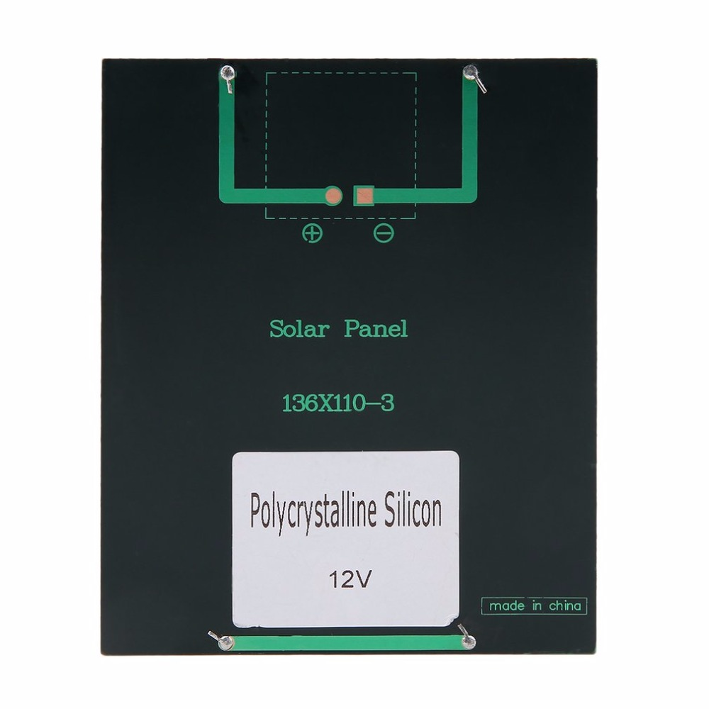 Universal 2W 12V Solar Panel Polycrystalline Silicon Solar cell Solar Module Mini Portable Solar Charger High Performance