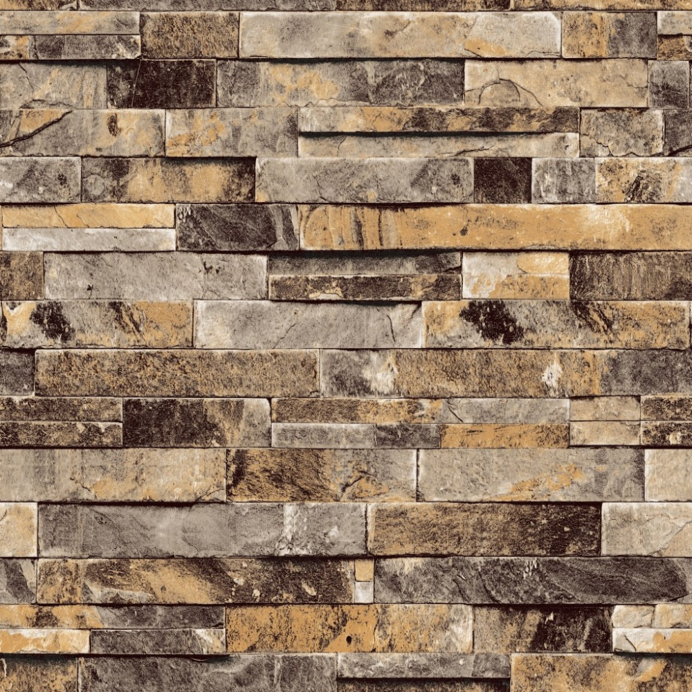 3D Wall Paper Brick Thicken PVC Vintage Stone Wallpapers PVC Vinyl  Wallpaper Roll for Walls Papel Pintado papel de parede tijolo-in Wallpapers  from Home ...