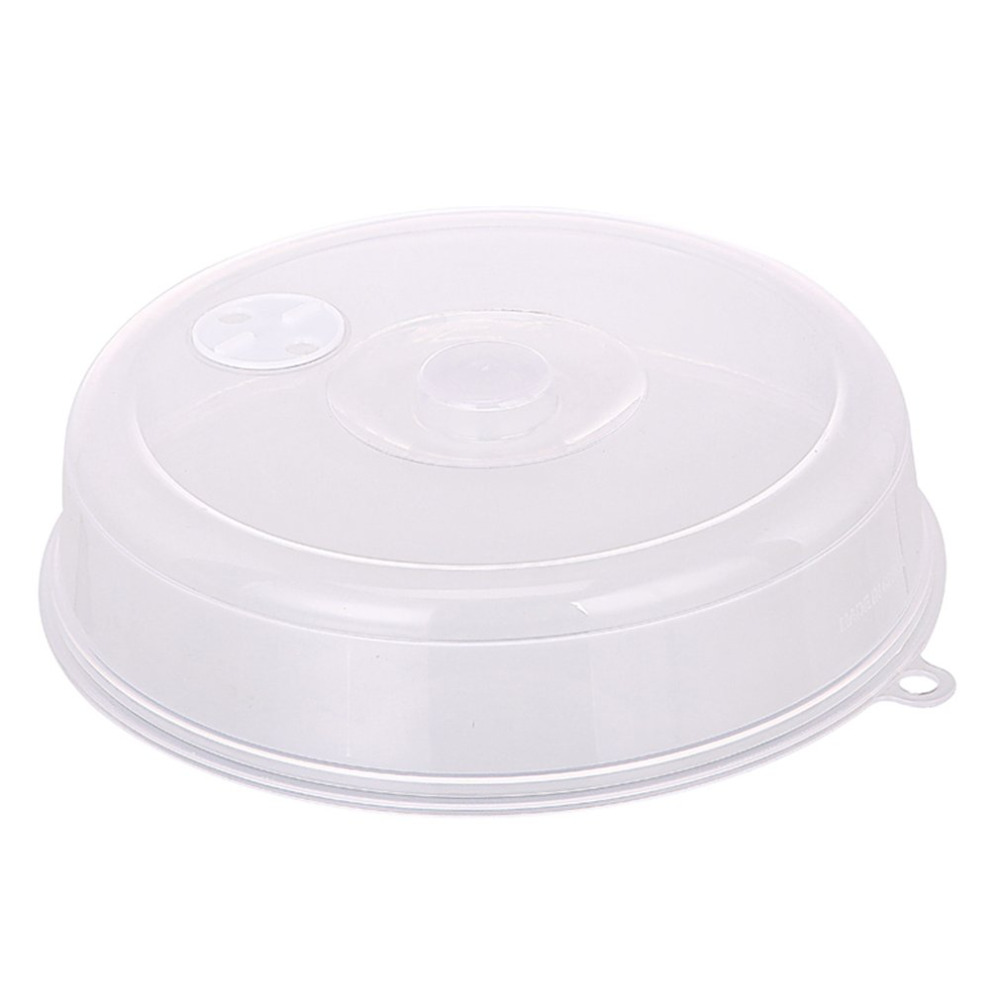 Microwave Plate Microwave Plate Cover Lid With Steam Vents Fresh Keeping Bowl Cover Stackable Microwave Splatter Cover Sealing Disk Cover