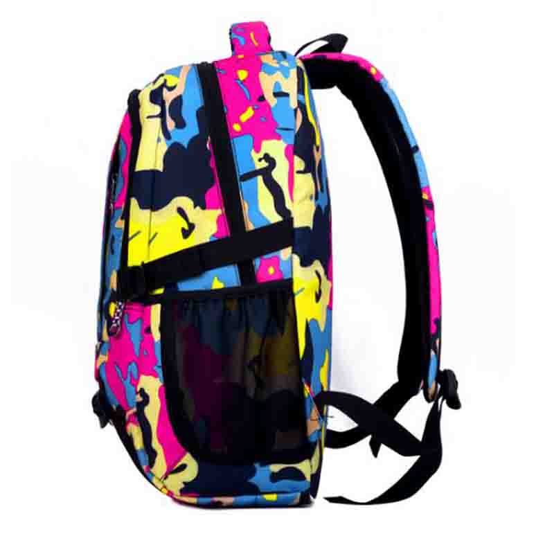 Kids School Bags Orthopedic Backpack Schoolbag Waterproof Camo Nylon School Bags for Girls Boys for teenage Children Backpacks