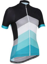 2016 new women's cycling jersey cycling shirt bicycle jersey black cycle gear riding clothes