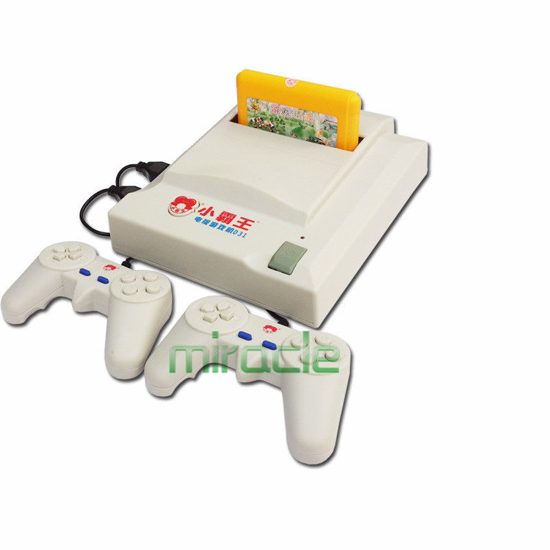 Subor D31 TV game console Double handle nostalgic Video Game Consoles Free electronic gun game card 89+198+245+400 games