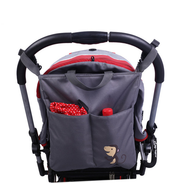 997bfac9f Diaper Bag Baby Stroller Storage Bag Basket Travel Stroller ...