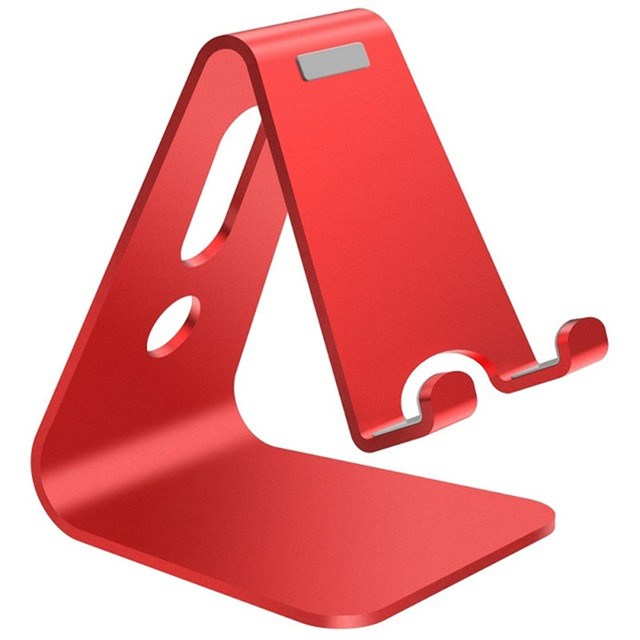 Vogek Mobile Phone Holder Stand Aluminium Alloy Metal Tablet Stand Universal Holder for iPhone X/8/7/6/5 Plus Samsung Phone/ipad 1
