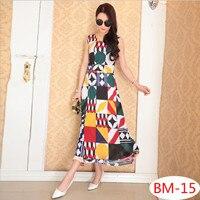 2017 New Women S Summer Collection Bohemia Meryl Mid Calf Sundress Floral Print Dress
