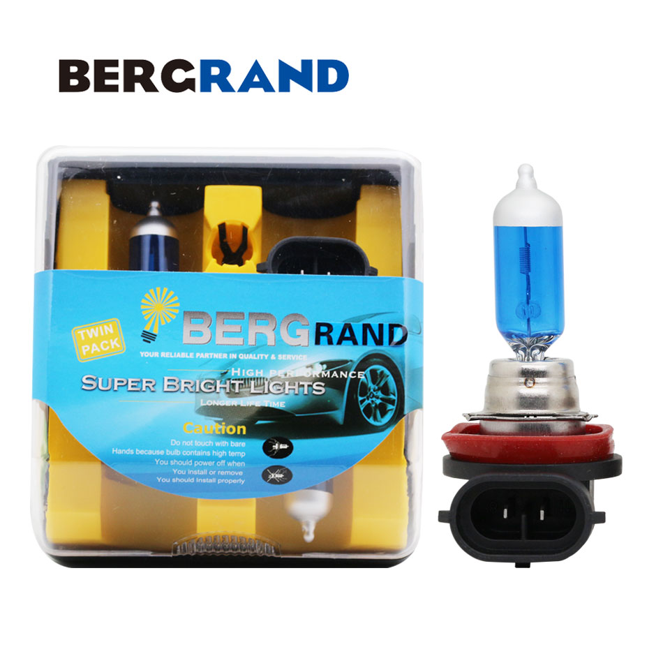 H7 55w 5000k Xenon Hid Super White Effect Look Headlight Lamps Light Bulbs T10