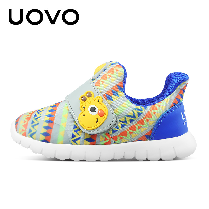 01a19946e5d9 UOVO 2019 Baby Shoes Toddler Boys And Girls Casual Shoes Spring breathable  Little Kids Shoes Hook And Loop Size 22  30 -in Sneakers from Mother   Kids  on ...
