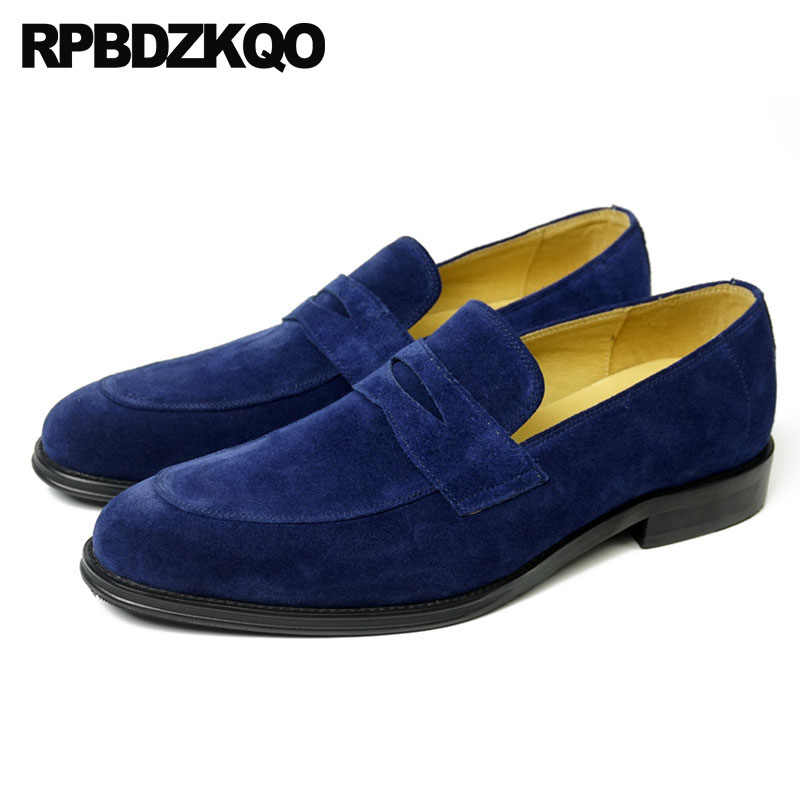 Big Size Loafers Designer Shoes Men