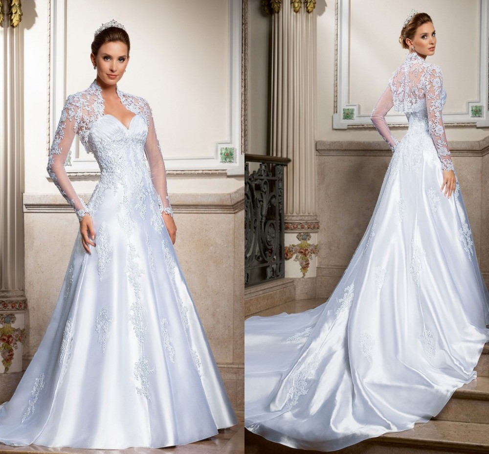 Wedding Dress Photography Silk Taffeta Bridal Gowns: 2015 Vintage High End Sweetheart A Line Wedding Dresses