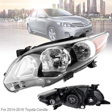 Waterproof Durable Passenger Side / Left Side Headlight  for 2011-2013 Toyota Corolla Base/CE/LE mydean 3063 1 для toyota corolla 2011 2013