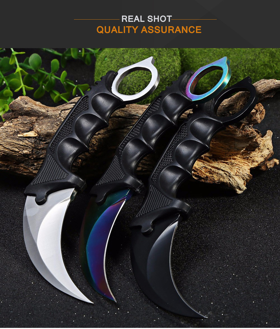 jeslon karambit knife cs go never fade counter strike fighting survival tactical knife claw camping knives for cs gamer - HTB1n6coMpXXXXb4XpXXq6xXFXXXO - Jeslon Karambit Knife CS GO Never Fade Counter Strike Fighting Survival Tactical Knife Claw Camping Knives for CS Gamer