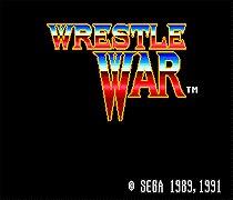 Wrestle War 16 bit SEGA MD Game Card For Sega Mega Drive For Genesis