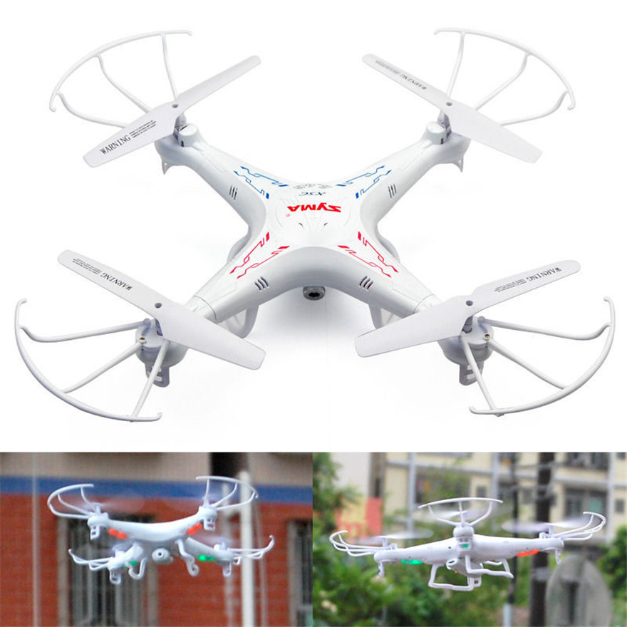 High Quqlity SYMA X5C 2.4GHz 4CH 6 Axis RC Quadcopter With 2MP FPV Camera HD Video Best Gift For Children Toys Wholesale  high quqlity jjrc v686 5 8g fpv headless mode rc quadcopter with hd camera monitor gift for children toys wholesale