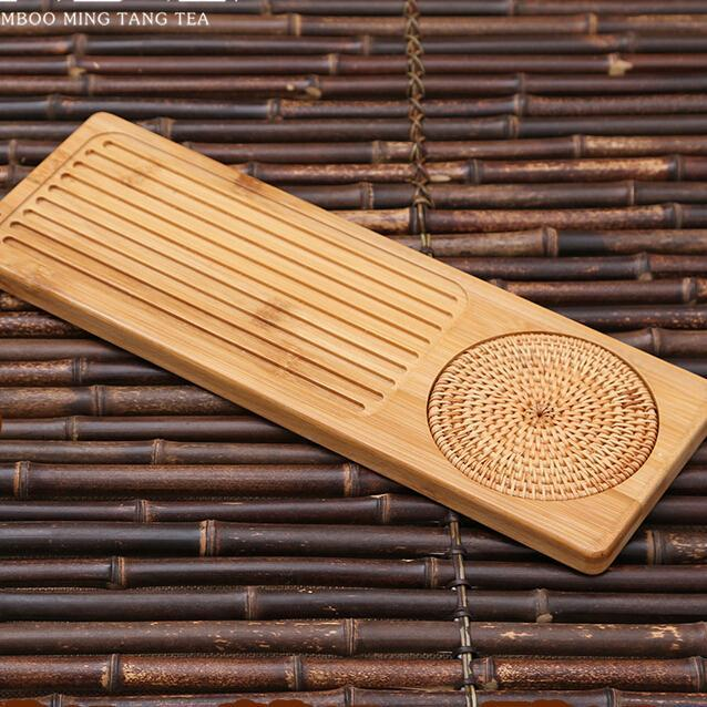 Traditional Chinese Bamboo Tray