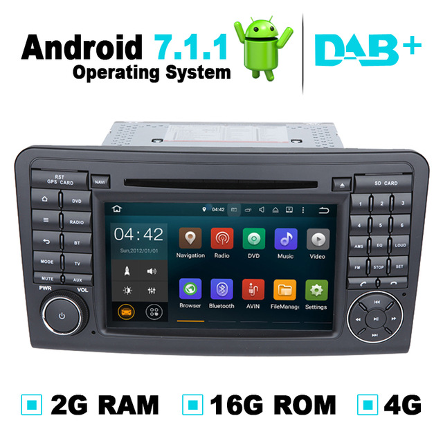 Car DVD Player Stereo GPS Navigation for <font><b>Mercedes</b></font> <font><b>ML</b></font> W164,GL320 GL350 GL420 GL450 X164 image