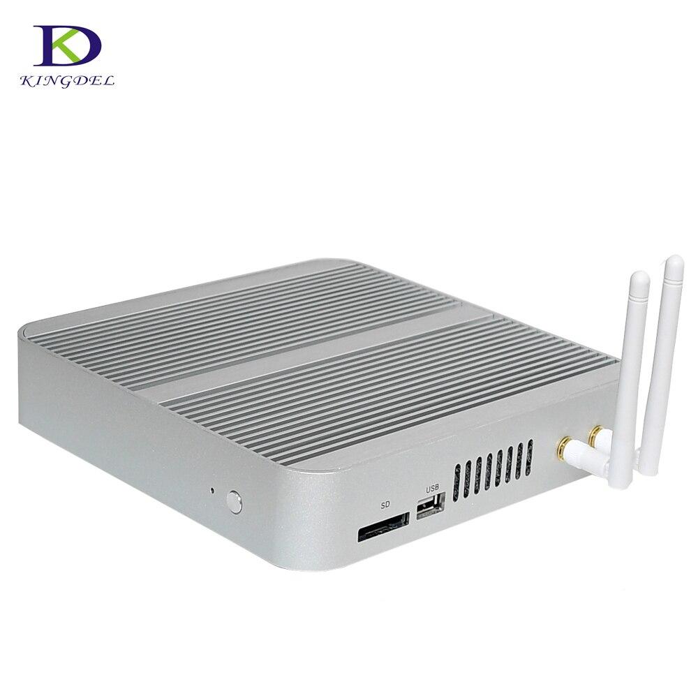 6ta Gen Sin Ventilador Mini Ordenador Intel HD Graphics 520 Nuc CPU Core i5 i3 6