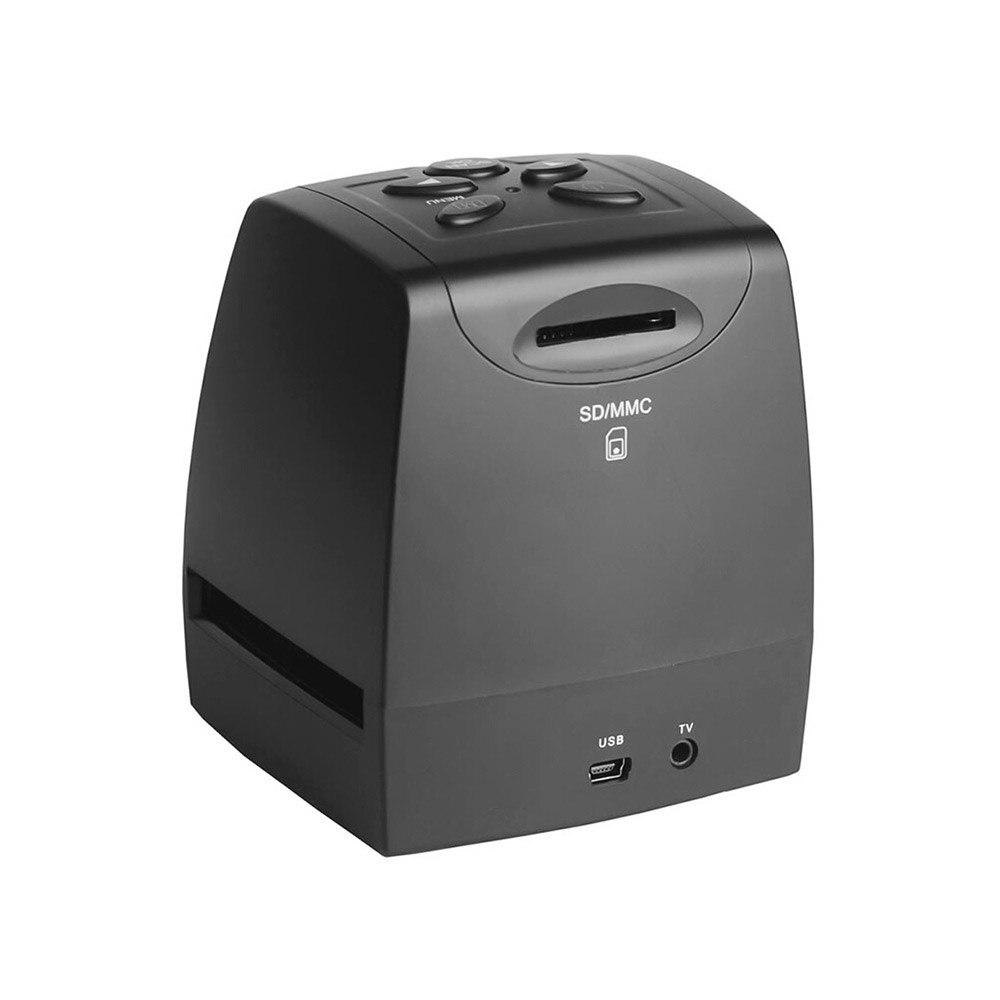 Портативный 5MP 35 мм сканер отрицательной пленки отрицательное скольжение фото пленка Преобразует USB кабель с 2,4