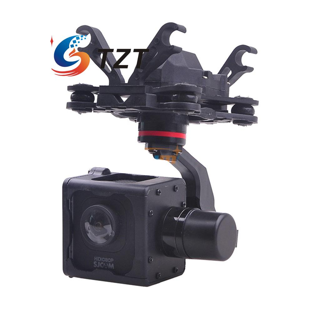 FPV 3-Axis Brushless Gimbal Camera Stablizer PTZ for SJCAM M10 Camera HMG SJM10 2015 hot sale quadcopter 3 axis gimbal brushless ptz dys w 4108 motor evvgc controller for nex ildc camera