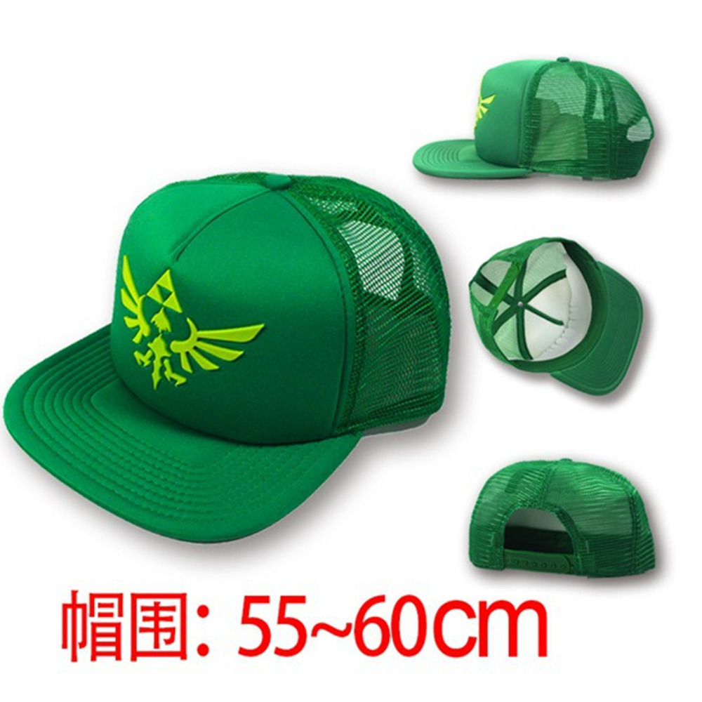 Anime The Legend of Zelda A Link Between Two Worlds Novelty cartoon ladies dress Hat charms Costume Props Baseball cap Famous the legend of qin anime zinv 925 sterling silver earring comics cartoon