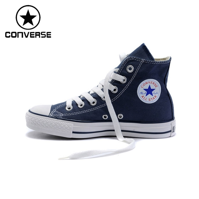 5e9711b838d6 Original Converse Classic Unisex Canvas Skateboarding shoes High top  sneaksers