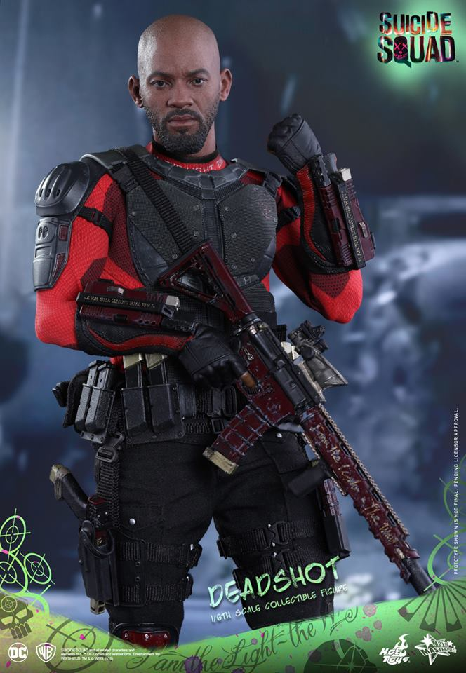 Suicide Squad Resin Statue Deadshot Will Smith Armored 1//6 DC Comics Figur