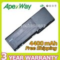 Apexway 4400 mah batería del ordenador portátil para dell inspiron 1501 6400 e1505 para latitude 131l vostro 1000 312-0461 gd761 rd859 ud267
