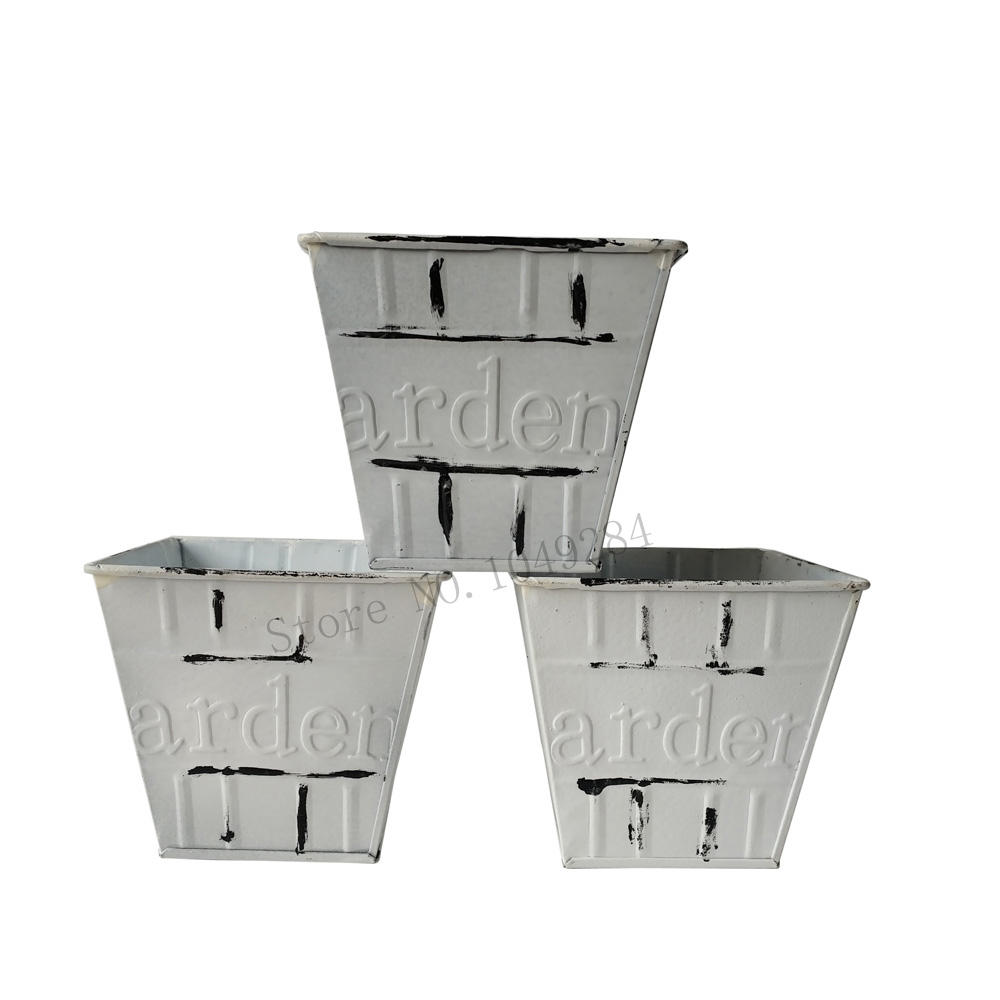 Free Shipping White Color Planter