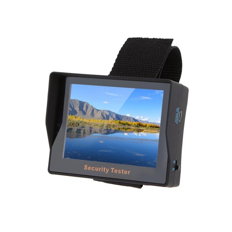 Appareil de contrôle de caméra de sécurité de bracelet de poignet de moniteur de 3.5