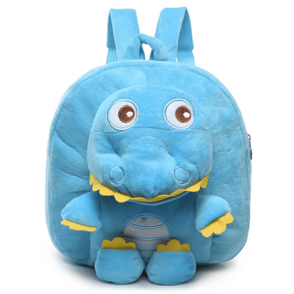 Crianças de alta Qualidade Mochila Pré-escolar Da Criança Dos Desenhos Animados do Dinossauro 3D Bonito Animal Crianças Escola Bags para Meninos Meninas Pequenas sacos de brinquedo
