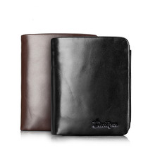 Fanny Popular Wallet Unique Clutch For Man Casual Solid Zipper Short Standard Wallet Synthetic Leather Wallet B005