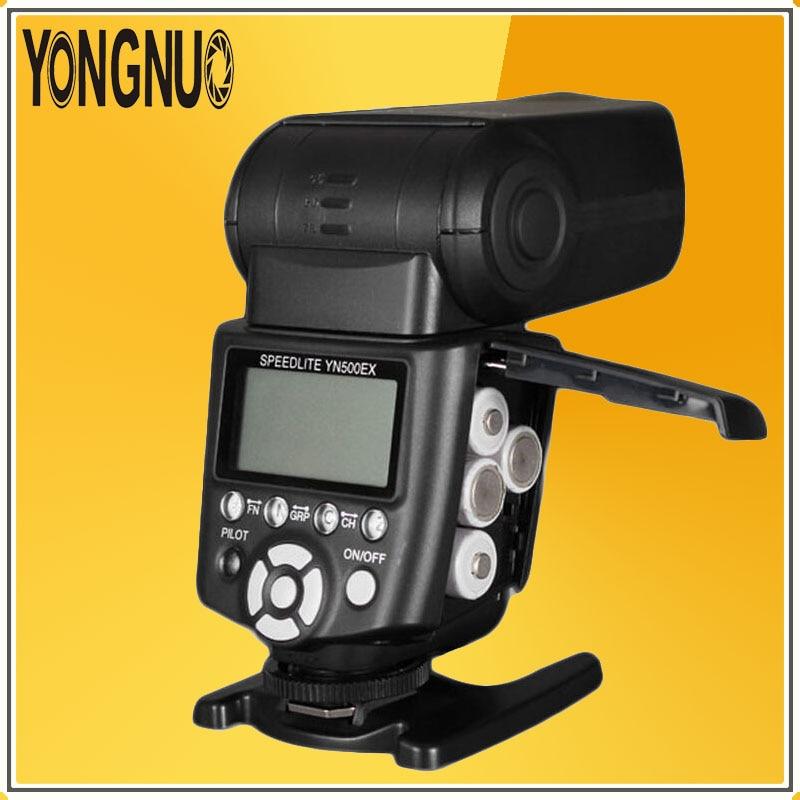 YONGNUO YN500EX YN500 EX YN-500EX Wireless HSS 1/8000s GN53 2.4G TTL Flash Speedlite for Canon 5D  6D 7D 50D 400D 600D 650D 700D yongnuo 3x yn 600ex rt ii 2 4g wireless hss 1 8000s master flash speedlite yn e3 rt flash trigger for canon eos camera 5d 6d