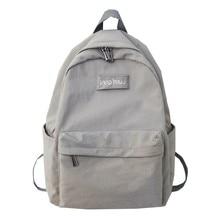 2019 Women Waterpoof Nylon Backpack Female Oxford School Bag Mochila Feminina Backpacks Adolescent Teenage Girls Travel Bagpack все цены